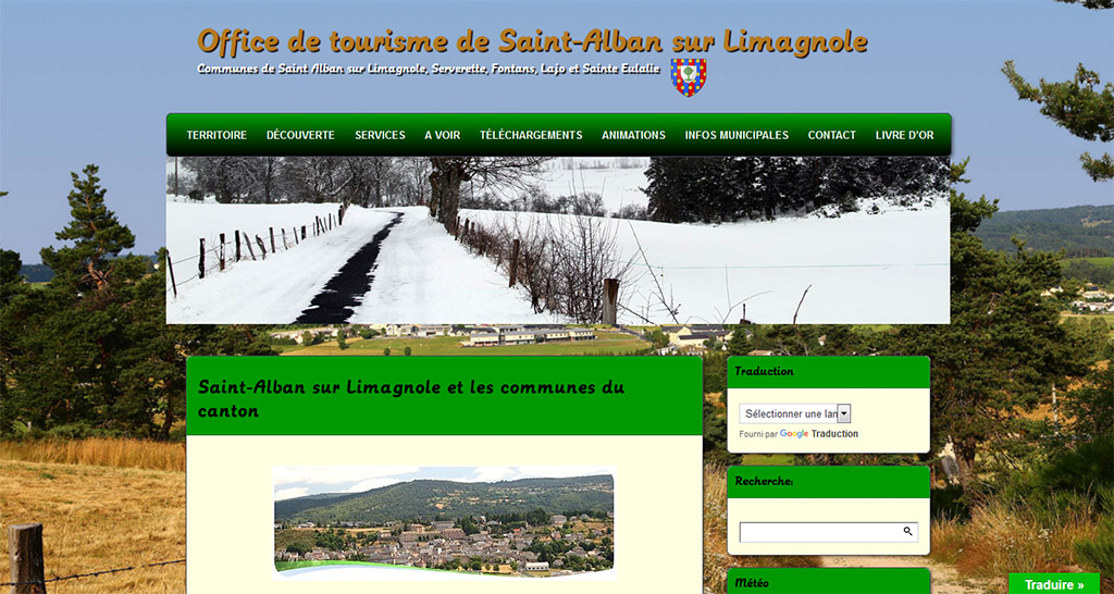 Office de tourisme de Saint Alban sur Limagnole